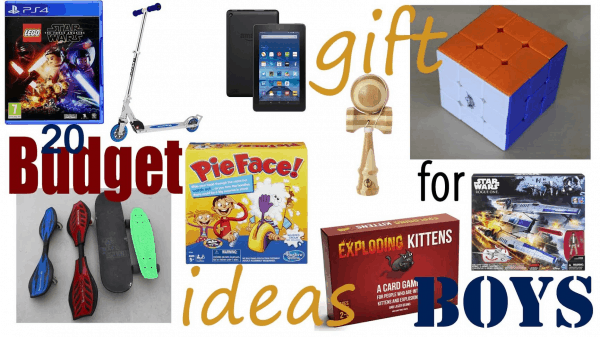 Budget Gift Ideas for Boys