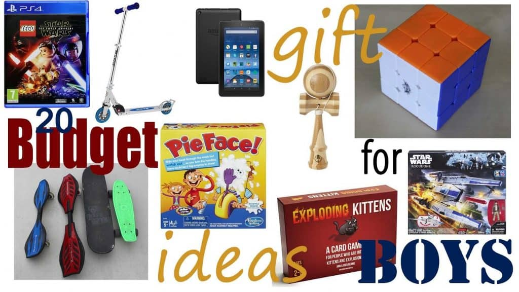 20 Budget Christmas Gift Ideas For Boys From $10 to Under $25 2018 ...