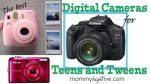 Best Digital Cameras for Christmas Teens