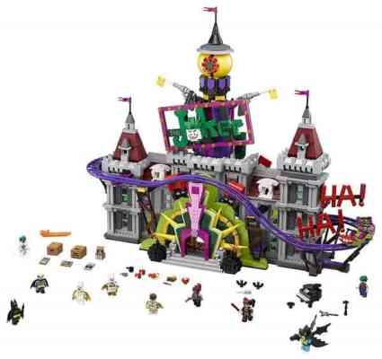 LEGO BATMAN MOVIE DC The Joker Manor 70922 Building Kit