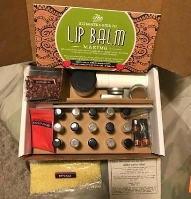 DIY Lip Balm Kit, (73-Piece Set) Homemade, Natural and Organic