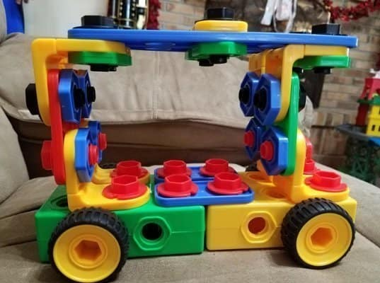 ETI Toys Original 101 Piece Building Blocks Set