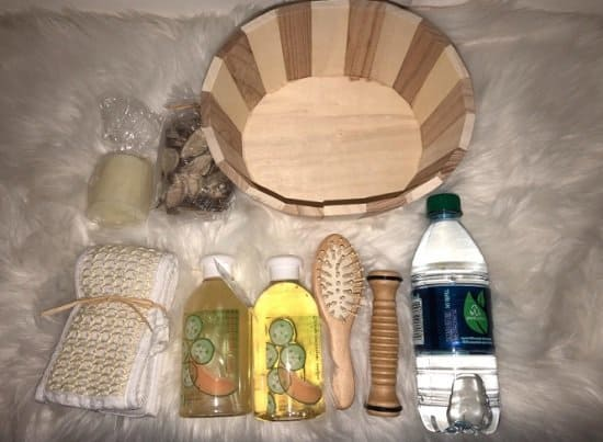 Freida and Joe, Wooden Massage and Reflexology Kit for Women At-Home Luxury Spa