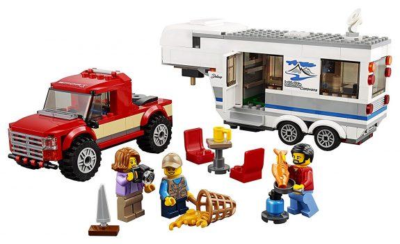 LEGO City Pickup & Caravan 60182 Building Kit