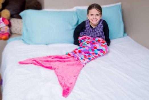 PixieCrush Mermaid Tail Blanket