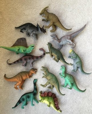 "Boley 12 Pack 9"" Educational Dinosaur Toys"