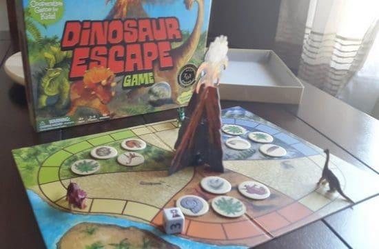 Dinosaur Escape Game