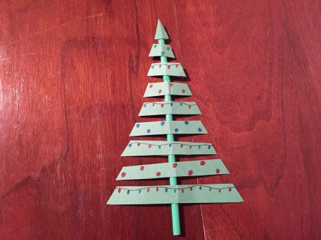 Christmas Tree on a Stick