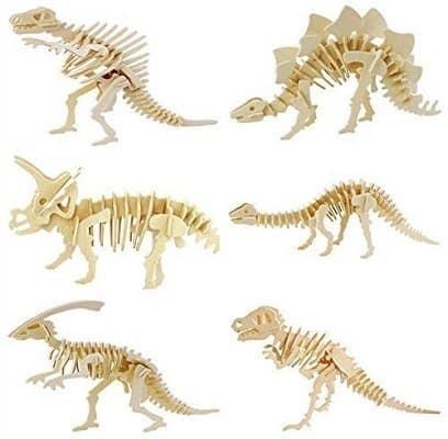 Wooden Dinosaur Model for Children