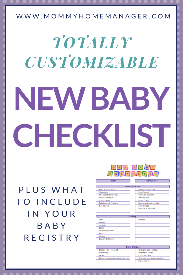 944c08217 There are so many items on the market for new parents! Check out this  customizable When I created a baby registry ...