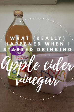The real effects of starting an apple cider vinegar regimen