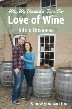 Checkout this post to find out why my husband and I decided to start a side business with a direct sales wine company