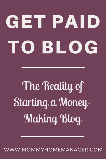 Have you ever thought about starting a blog? Are you curious how bloggers get started, grow a following, and make money? This post goes through the REALITY of getting started as a blogger including how to get paid to blog. Grow your blog, blog as a business, affiliate marketing, sponsored blog post.