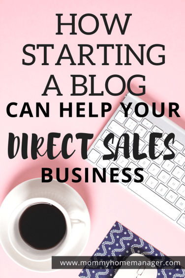 Starting a blog can help your business to stand out in the social media crowd! Check out this post for reasons you should consider starting a blog. #directsales #mlm #networkmarketing #wahm #workfromhome