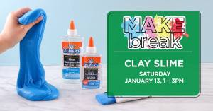 Make Clay Slime at Michaels (Multiple Locations)