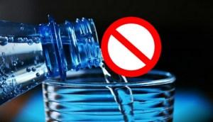 Newborn baby should not drink water