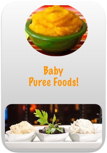 Baby Puree foods