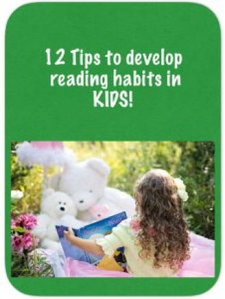 12 Tips to develop reading in kids