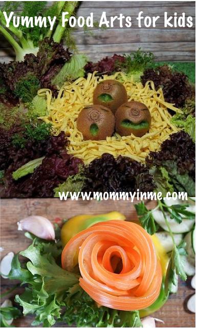 Food art : Easy way to let kids eat nutritional food