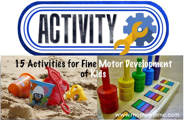 Fine Motor skills development in Kids