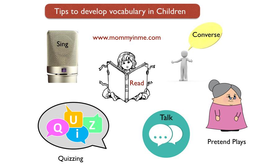 Tips for Vocabulary Development in children