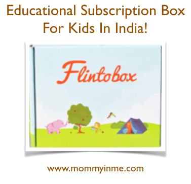 Flintobox - Educational Subscription box for Kids in India