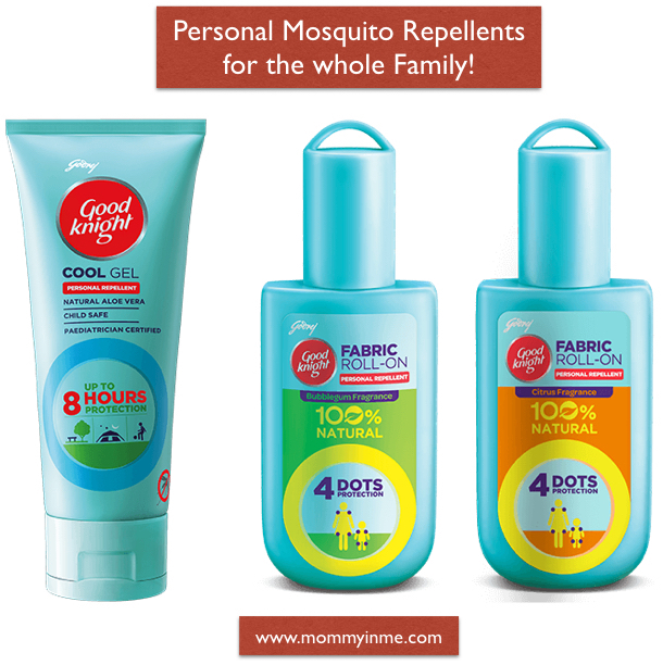 Are you afraid that your child might get bitten by those mosquitoes? Read why natural mosquito repellent are safe and why being a mama, I prefer Good Knight patches and Good Knight fabric roll on for my family. #GoodKnight #mosquito #mosquitorepellent #patches
