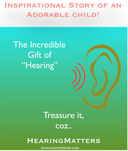 #Hearingmatters For those kids who suffer hearing loss in their early start of life. Something every parent of a child with hearing loss must know. #mustread #hearingloss #kidsdisability