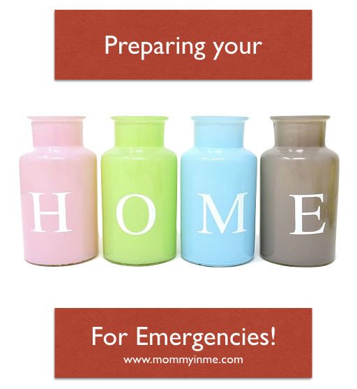 Prepare your home for emergencies before that calamity strikes. Be safe #readmore #emergency #house
