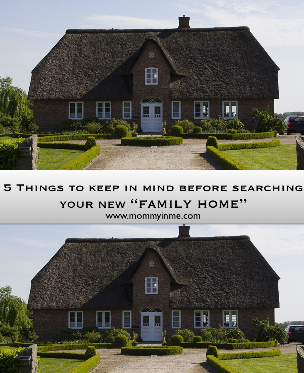 Searching & owning a new house is not an easy task, and more so when the search is for a Family home. Here are 5 things you need to know on this journey #familyhome #home #house #rent #buyhouse #property