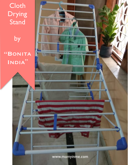Are you ready for monsoon? Drying clothes indoor is every household problem during rains. Moisture and humidity is a breeding ground for moulds, microbes which cause many health problems. Hence here are some tips to help you dry your clothes quick this monsoon. #monsoon #bonita #bonitaindia #household #durables #clothesdryingstand #dryingstand