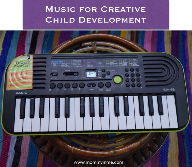 Did you ever knew how music for kids is important for their development? Begin with Casio Mini keyboard and then move on with better instruments or your child's creativity and Intellect #music #child #positiveparenting #creativechild #casiomini