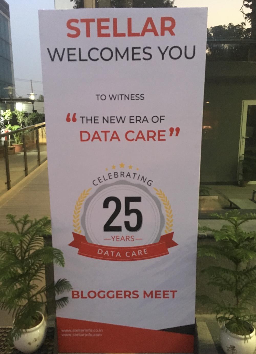 Stellar Bloggers Meet on the DIY Data Care tools. #stellar #askstellar #dataloss #datacare #data #dataretrieval #datarecovery #datamigration #dataerasure #bitraser