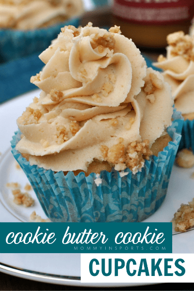 Cookie Butter Cookie Cupcakes Cover Photo
