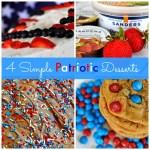 4 Simple Patriotic Desserts