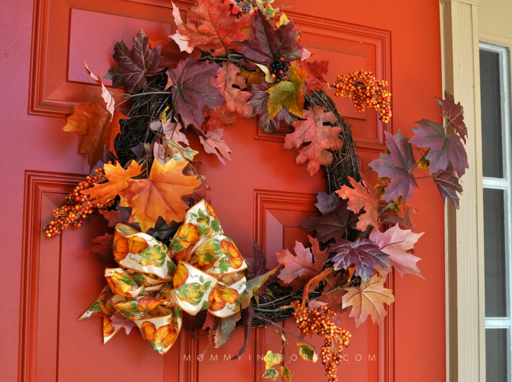 Easy Fall Decorations Wreath