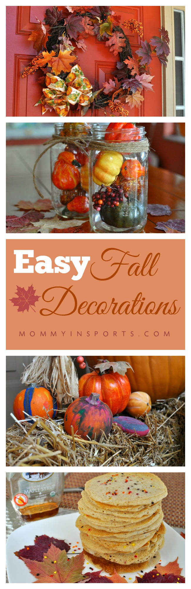 Easy Fall Decorations pin