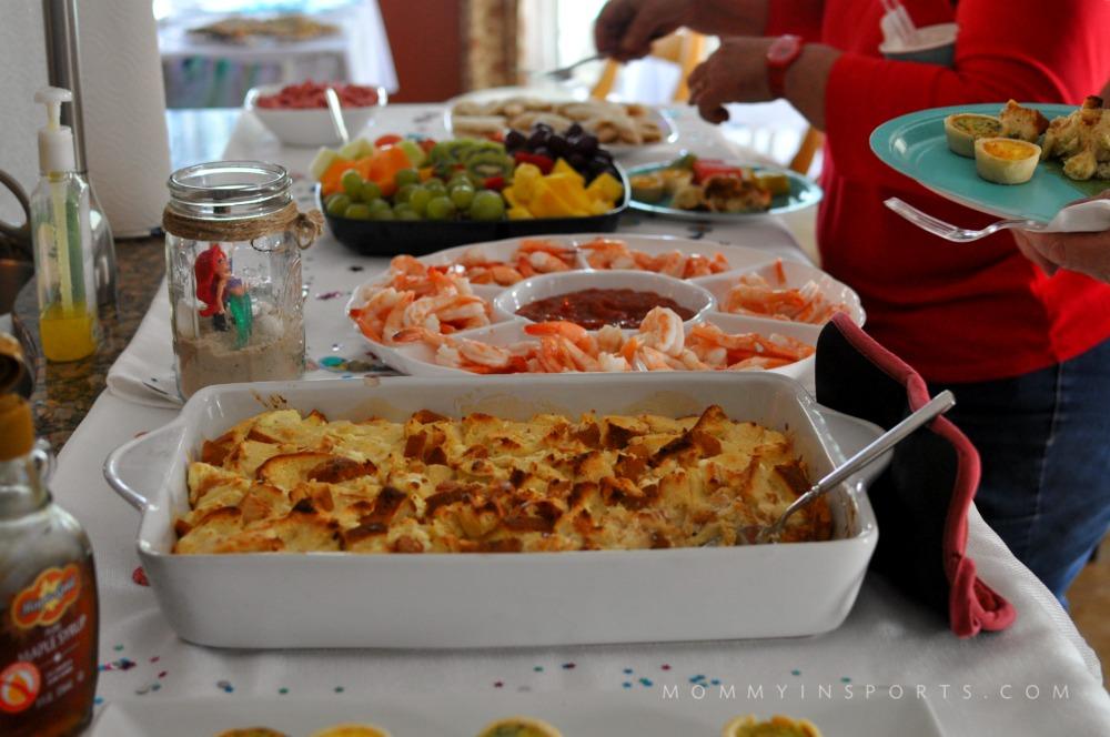Ariel Party Food