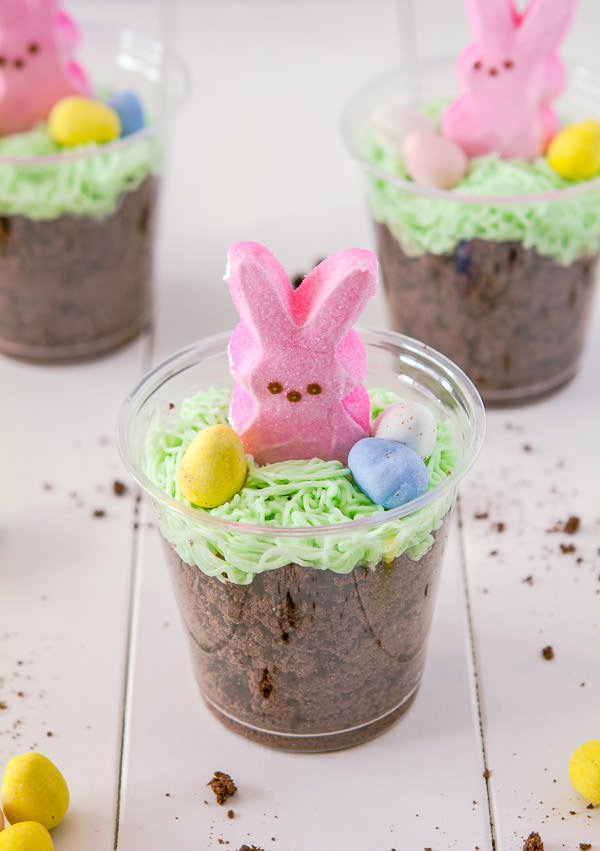 Easter Pudding Cake