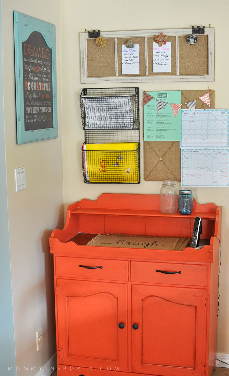 DIY Home Wall Organization