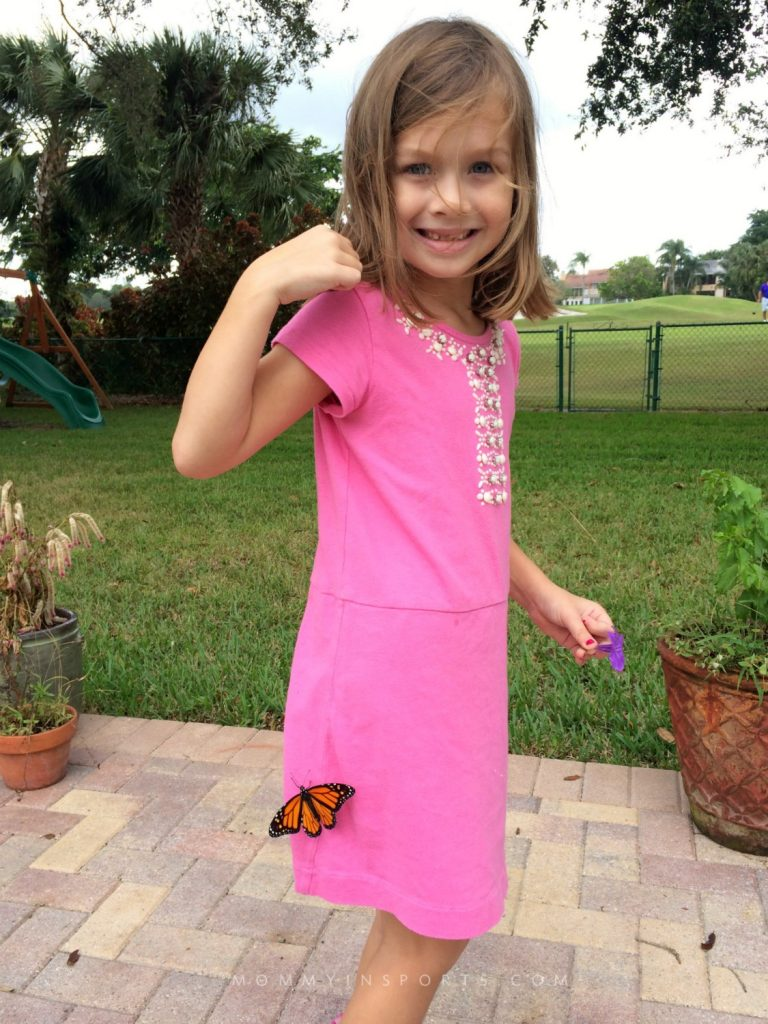 Want to teach your kids about the life cycle of a butterfly? Here's the easiest way to start a butterfly garden with your kids!