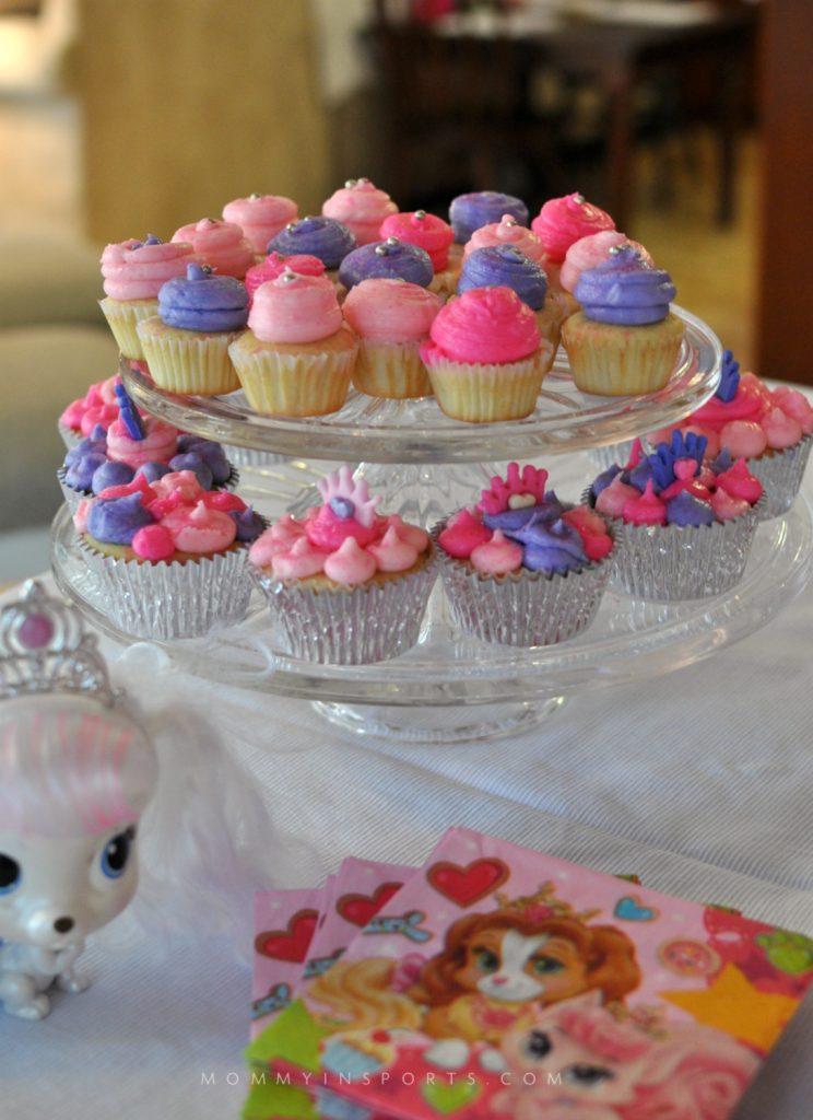 Royal Palace Pets Cupcakes