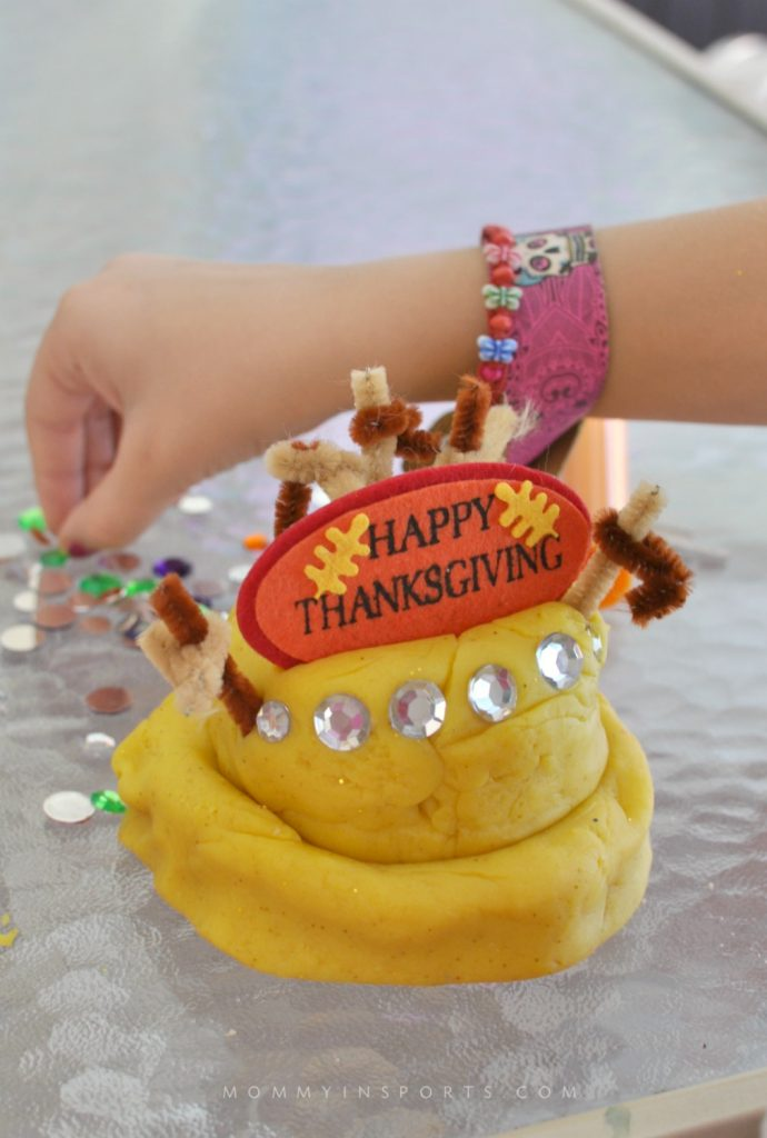 Thanksgiving Play Dough CAKE