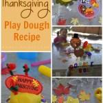 Thanksgiving Play Dough Recipe