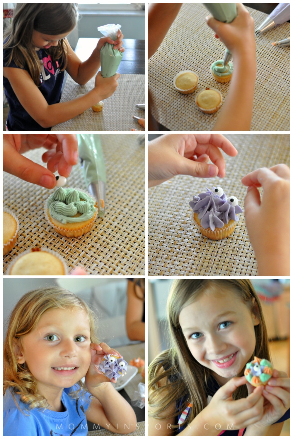 Looking for a scary treat that isn't full of harmful chemicals? Try these natural food dye monster cupcakes, which are so easy to make your kids can do them! There's no wrong way to create a monster!