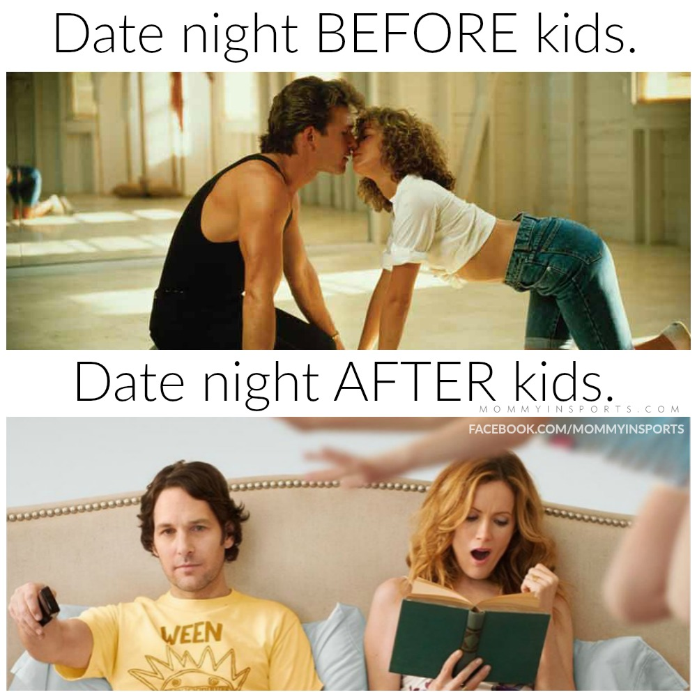 Do you long for the days of date night before you had kids? It may seem like forever ago, but it really looks different now after kids!