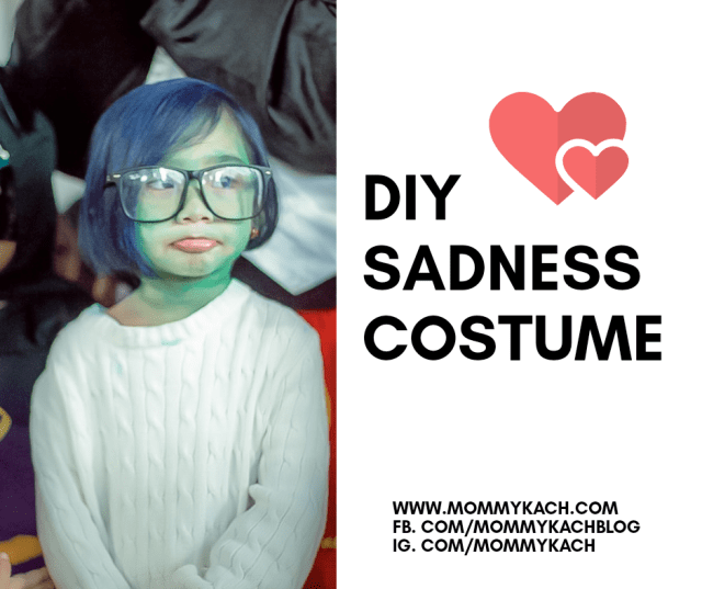 DIY Sadness Costume Inside Out
