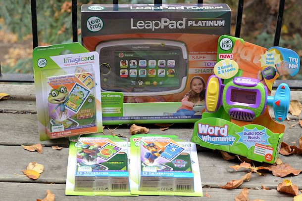 Leapfrog Leappad Platinum Imagicards And Word Whammer