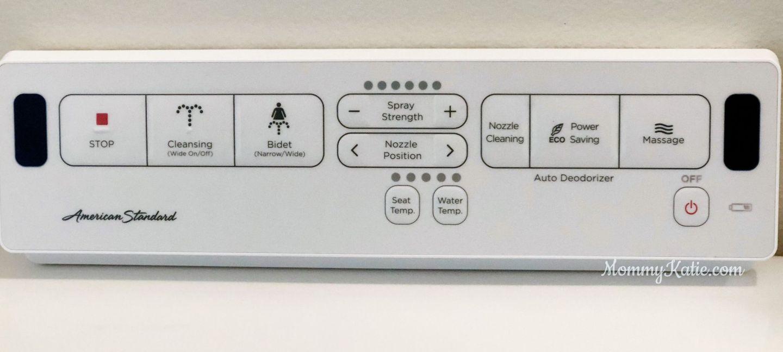 American Standard SpaLet Bidet Remote