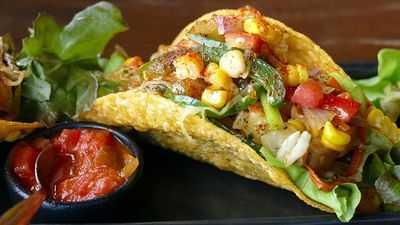 Epic Vegetarian Tacos for Thanksgiving